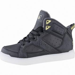 Skechers E-Pro Street Quest Jungen Synthetik Sneakers black, 5 cm Schaft, Meshfutter, Einlegesohle, LED Farbwechsel, 3341109/37