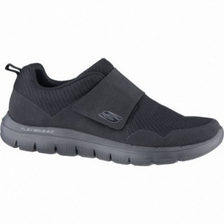 Skechers Flex Advantage 2.0 Gurn coole Herren Mesh Sneakers black, Air-Cooled-Memory-Foam-Fußbett, 4239147/40