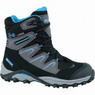 Meindl Winter Storm Junior GTX Velour Mesh Jungen Boots schwarz, warmes Comfort-Futter mit Gore-Tex, 4535105/36