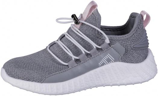 RICHTER Mädchen Strick Sneakers light grey, mittlere Weite, softes Leder Fußbett
