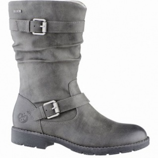 Jane Klain coole Damen Synthetik Winter Stiefel graphite, molliges Warmfutter, warme Super-Soft-Decksohle, 1639191