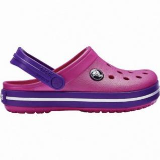 Crocs Crocband Clog Kids Mädchen Crocs paradise pink, anatomisches Fußbett, Belüftungsöffnungen, 4340119/28-29