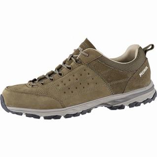 Meindl Durban LF Herren Leder Trekking Schuhe braun, herausnehmbares Air-Acti...