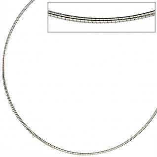 Halsreif Edelstahl 1, 0 mm 45 cm Halskette Kette