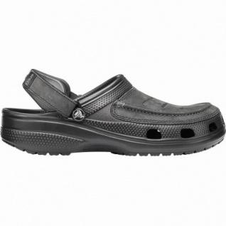Crocs Yukon Vista Clog leichte Herren Pantoletten black, mit Leder verarbeitet, 4340116/48-49 - Vorschau 1