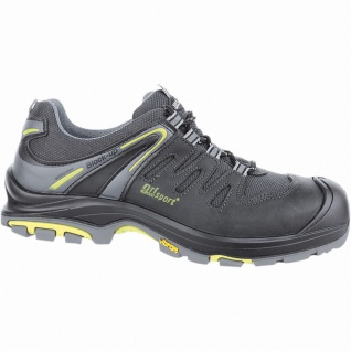 Grisport Mugello S3 Herren Mesh Sicherheits Schuhe schwarz, DIN EN 345/S3
