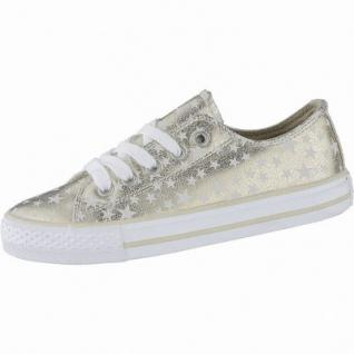 Canadians coole Mädchen Glamour Synthetik Sneakers Low rosegold, weiches Fußbett, 3340139