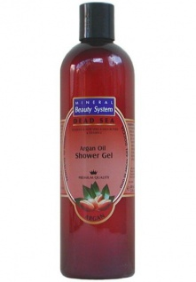 Mineral Beauty System Duschgel mit Arganöl, Shea Butter, Aloe Vera, Vitaminen, Ginseng Extrakt, Olivenöl, 400 ml=35, 00 EUR/1 L