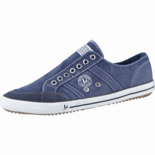 bruno banani modische Herren Canvas Slip-on denim, 2038102