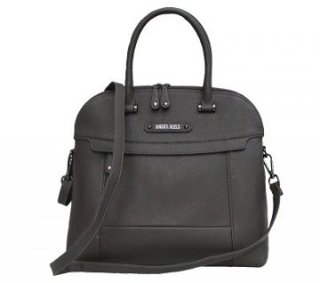 Angel kiss AK5967 grey modische Tasche, Handtasche, Shopper, 1 Hauptfach, langer Trageriemen, 35x33x10 cm