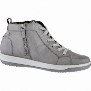 Jenny Miami modische Damen Synthetik Sneaker Boots street, Comfort Weite G, Warmfutter, Leder Fußbett, 1739137