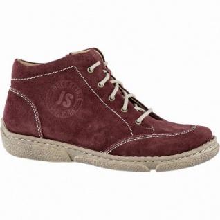 Josef Seibel Neele 01 Damen Leder Boots carmin, 7 cm Schaft, Lederfutter, warmes Fußbett, 1641294/40
