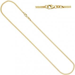 Panzerkette 585 Gelbgold diamantiert 2, 2 mm 60 cm Gold Kette Halskette Goldkette