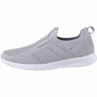 MEXX coole Damen Strick Sneakers light grey, herausnehmbares Fußbett, 1242180/37