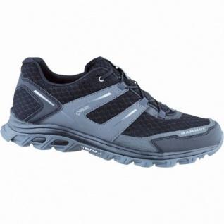 Mammut Trail Low GTX Men Herren Mesh Single Shell Outdoor Schuhe black-graphite, Goretex Ausstattung, 4436147/11.5