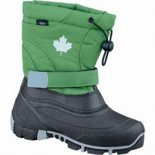 Canadians Mädchen und Jungen Winter Synthetik Tex Boots green, Warmfutter, weiches Fußbett, 4537114