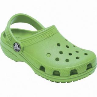 Crocs Classic Clog Kids Mädchen, Jungen Crocs grass green, Massage-Fußbett, Belüftungsöffnungen, 4340118/29-30 - Vorschau 2