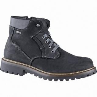 Josef Seibel Chance 39 Herren Leder Winter Tex Boots schwarz, 13 cm Schaft, Warmfutter, warmes Fußbett, 2541157