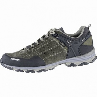 Meindl Ontario GTX Herren Velour-Mesh Outdoor Schuhe loden, Air-Active-Fußbett, 4440109/6.5