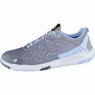 Jack Wolfskin Monterey Ride Low W Damen Mesh Outdoor Schuhe blue, atmungsaktiv mit Texacool, 4438159
