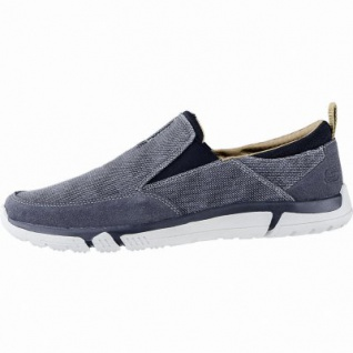 Skechers Edmen coole Herren Canvas Slippers navy, Skechers Air Cooled Memory Foam-Fußbett, 4240171
