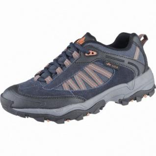 Lico Falcon Herren Leder Trekking Schuhe marine, Textil Einlegesohle, 4439136/44