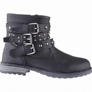 Lico Ino Mädchen Synthetik Tex Boots schwarz, 11 cm Schaft, Warmfutter, warme Textileinlegesohle, 3741105/36