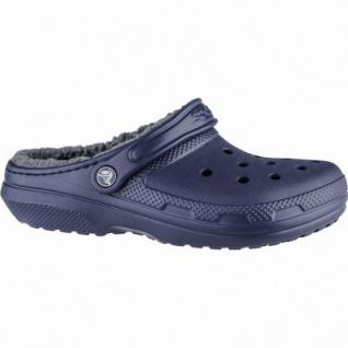 Crocs Classic Lined Clog warme Damen, Herren Winter Clogs navy, Warmfutter, flexible Laufsohle, 4337112/36-37