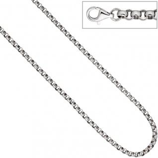 Erbskette 925 Sterling Silber 4, 5 mm 45 cm Kette Halskette Silberkette Karabiner