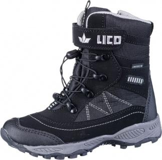 LICO Sundsvall VS Mädchen Nylon Winter Boots schwarz, Comfortex Ausstattung, ...