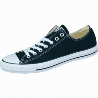 Converse Chuck Taylor All Star Low schwarz, Damen, Herren Canvas Chucks, 4234126/44.5