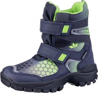 LICO Balto V Jungen Nylon Winter Boots marine, Comfortex Ausstattung, Warmfutter