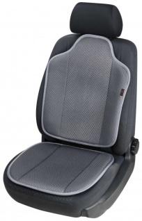 High Tec Universal Auto Sitzauflage Spacer anthrazit, 3D Spacer Füllung, 30 Grad waschbar, alle PKW