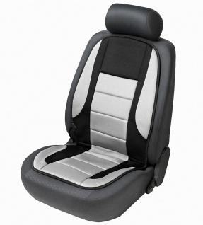 beheizbare Auto Sitzauflage schwarz grau, Sitzheizkissen für alle PKW mit und...