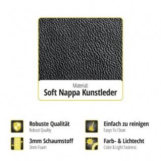 Passform Transporter Sitzbezüge VW Crafter, passgenauer Kunstleder Sitzbezug Einzelsitz+Doppelbank, ab Bj. 05/2006 - Vorschau 2