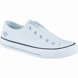 Dockers modische Damen Canvas Sneakers weiss, Dockers-Laufsohle, 1238202/37