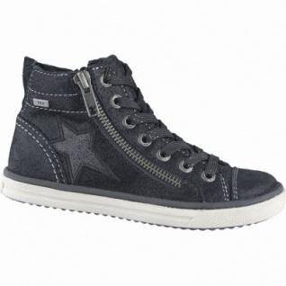 Lurchi Sassi Mädchen Winter Leder Tex Boots black, Warmfutter, warmes Fußbett, mittlere Weite, 3739128/33