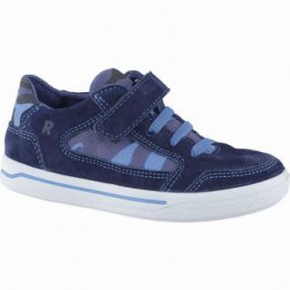 Ricosta Berti coole Jungen Leder Sneakers nautic, Ricosta Fußbett, mittlere Weite, 3338175