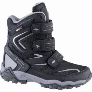 Kangaroos Reen coole Jungen Synthetik Winter Tex Boots jet black, Warmfutter, warmes Fußbett, 3739139