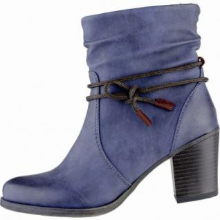 Jane Klain stylishe Damen Synthetik Winter Stiefeletten denim, Warmfutter, warme Super-Soft-Decksohle, 1639185