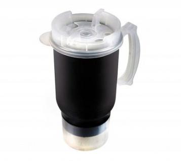 LAMPA beheizbare Tasse aus Edelstahl 400 ml bis 65 Grad, für Standardgetränkehalter Autos, LKWs, Camper, Vans, Boote