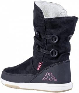KAPPA Cream Mädchen Winter Synthetik Stiefel black, Warmfutter, warme Decksohle - Vorschau 2