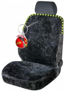 Universal Reißverschluss Autositzfelle schwarz, komplettes überspannen, ZIPP ...