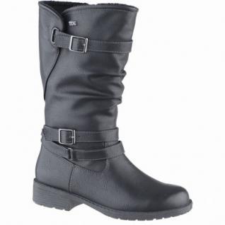 Indigo modische Mädchen Synthetik Winter Tex Stiefel black, Warmfutter, warmes Fußbett, 3739161