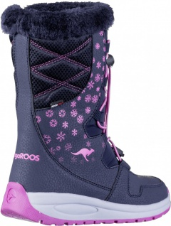 KANGAROOS K-Glaze RTX Mädchen Winter Synthetik Boots navy, molliges Warmfutte... - Vorschau 2