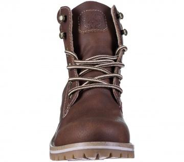 JANE KLAIN Damen Synthetik Boots brown, Fleecefutter, weiche Super Soft Decks... - Vorschau 4