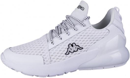 KAPPA Colp OC Damen Mesh Sneakers white, Meshfutter, herausnehmbare Decksohle