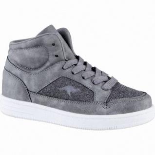 Kangaroos K-Glitter coole Jungen Synthetik Winter Sneakers grey, Warmfutter, weiches Fußbett, 3739136/36