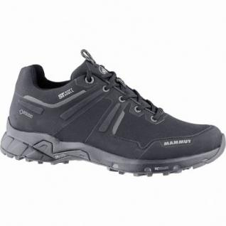 Mammut Ultimate Pro Low GTX Women Damen Softshell Trekking Schuhe black, Gore Tex Austattung, 4440161/7.5