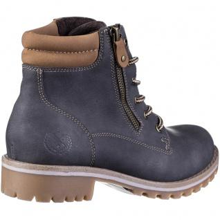 JANE KLAIN Damen Synthetik Boots dark grey, Fleecefutter, weiche Super Soft D... - Vorschau 3